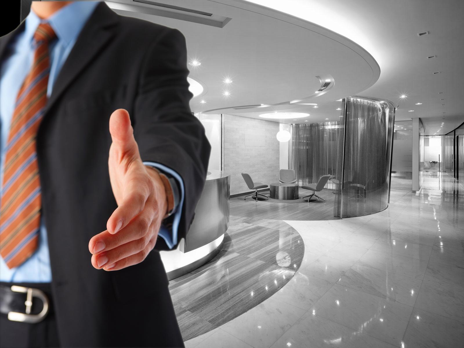handshakes during job interviews