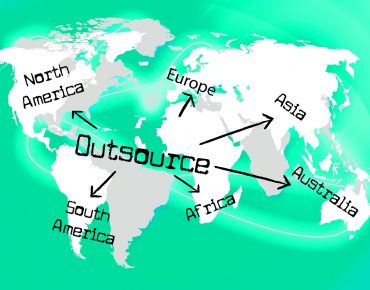 most common outsourcing jobs