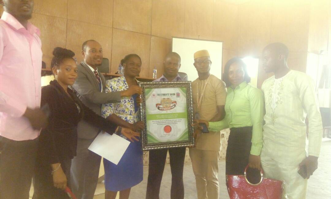 award presentation to megarich networks and consults ltd