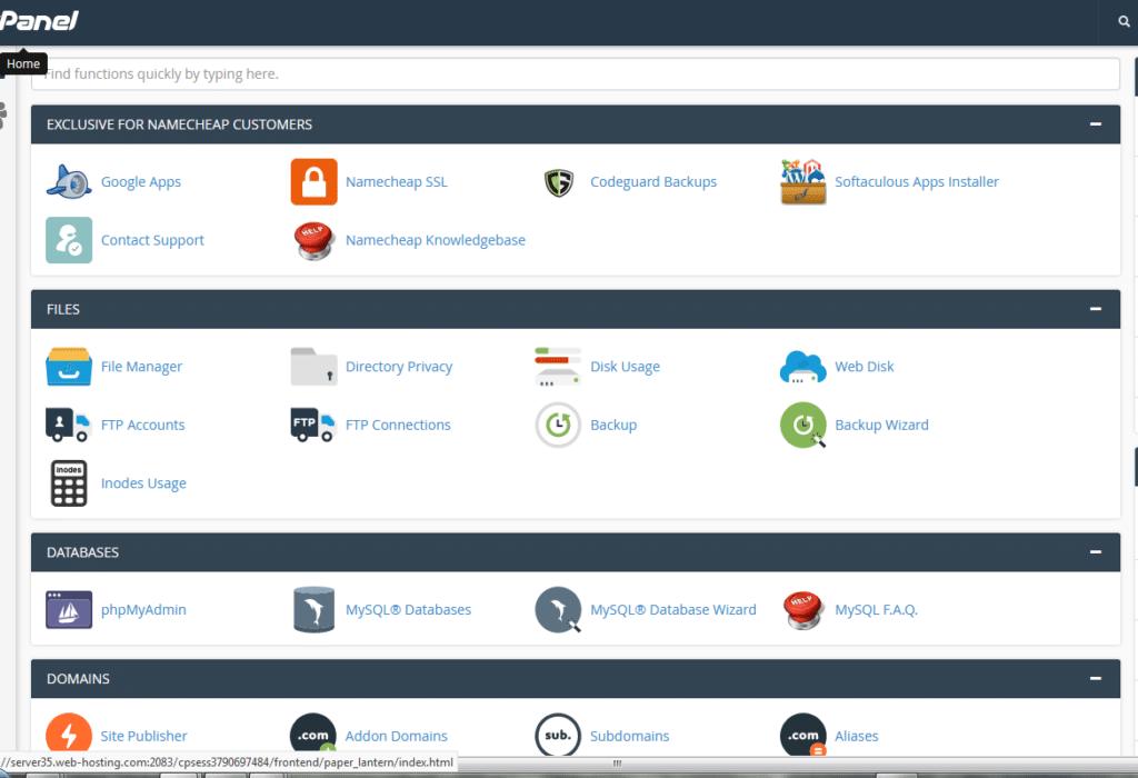 softaculous app installer